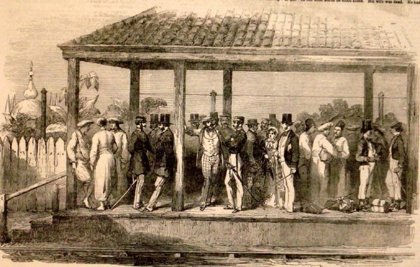 Railway Station, 1854