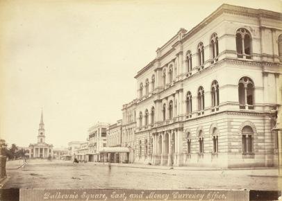 Currency Office in Dalhousie Square - Calcutta (Kolkata) 1878