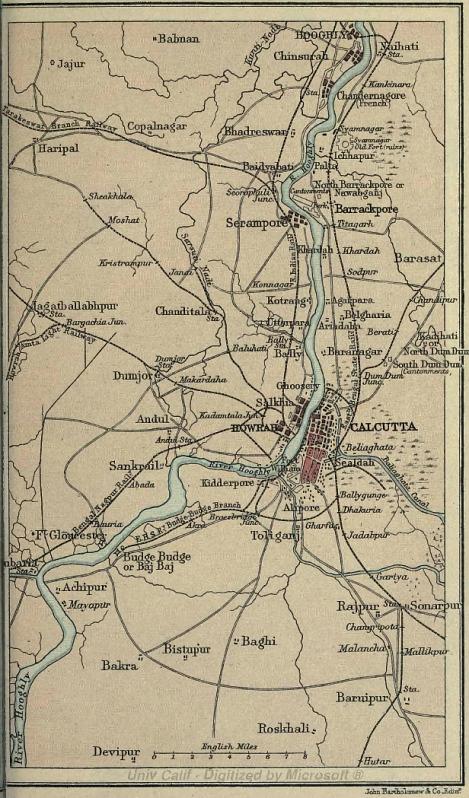Calcutta und Umgebung
