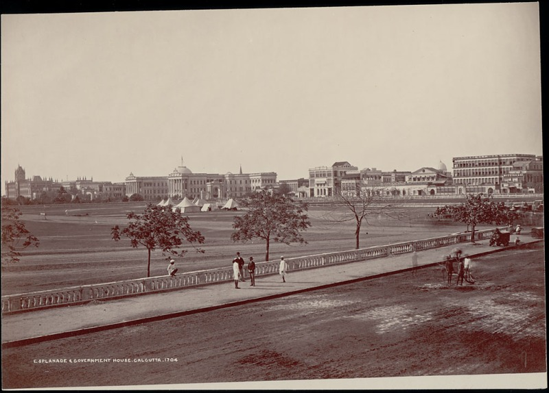 Esplanade and Government House-Large 1863