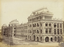 Writers Buildings - Calcutta (Kolkata) 1885