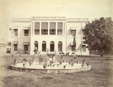 Two storey house in Cossipore, a northern suburb of Calcutta (Kolkata) - 1875