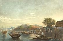Chandpal Ghat by James Baillie Fraser - 1826