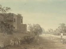 Russel St. Chowringhee Calcutta--Artist- James, Marianne Jane -1828