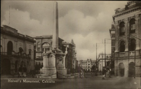 Holwel's Monument - Calcutta (Kolkata) c1910
