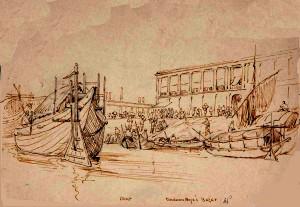 Mint, Burduan Raja's Bazar -Prinsep-2