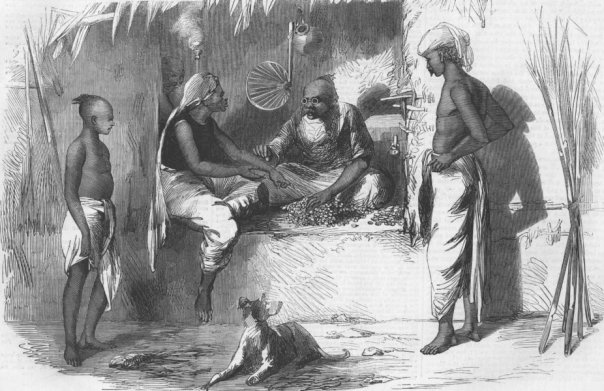 Money-changer-Hindu-1859