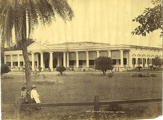 Outram Institute In DUM DUM, Calcutta Sc1890s