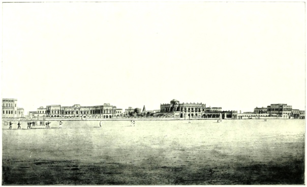 GOVERNMENT HOUSE AND COUNCIL HOUSE, CALCUTTA, 1794.
