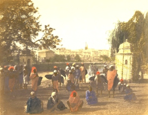 Tank Square and water carriers, Calcutta,1651-Fiebig-2