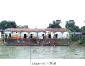 Basak's Jagannath Ghat as of now