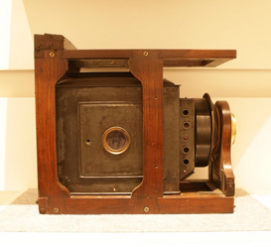 Daguerreotype camera used in the early 19th century in the physics lab Presidency College Courtesy@TimesFreshFace