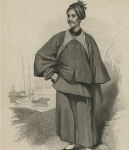 Karl Friedrich Gutzlaff in Chinese garment