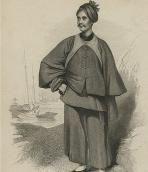 Karl Friedrich Gutzlaff in Chinese garment