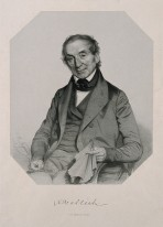 Nathaniel Wallich. Lithograph by T. H. Maguire, 1849