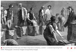 Tea smuggling form China