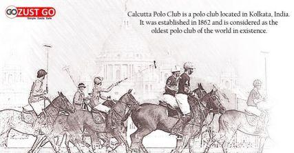 Calcutta Polo Club of 1862 Drawing by unidentified artst. Source: justGo