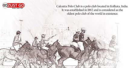 Calcutta Polo Club of 1862 Drawing by unidentified artst. Source: justGo