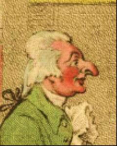 Eduardo Territa, Active by James Gillrayi(Activen 1792